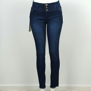 Denim - Women's Skinny jeans Butt Lifting  Combined design
